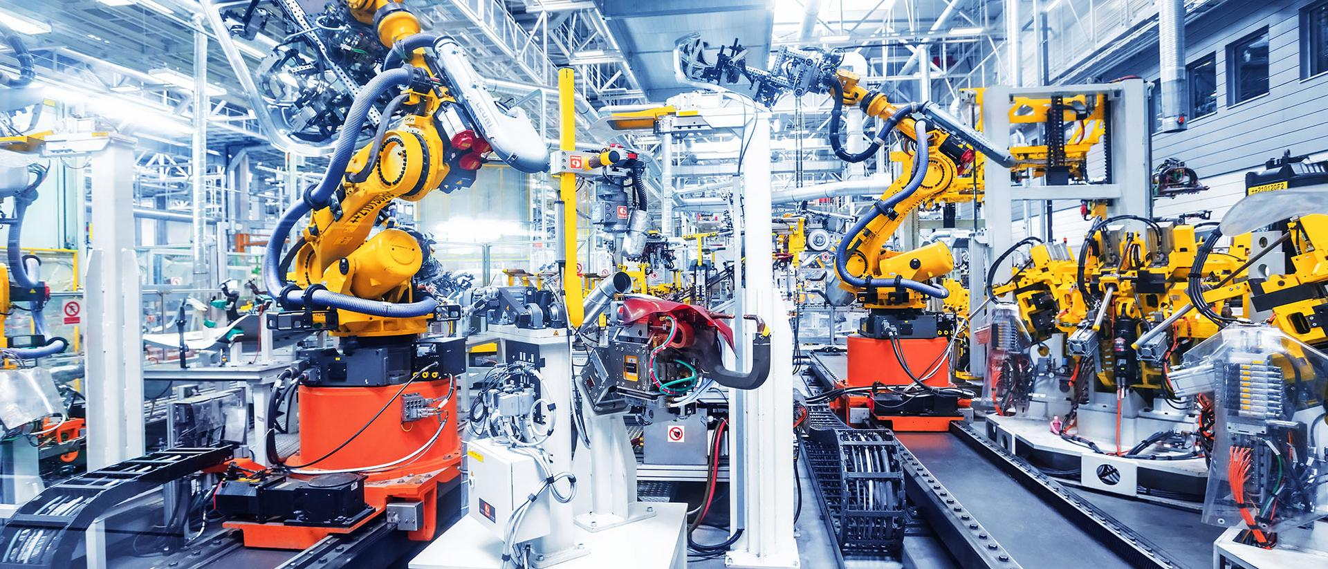 Teollisuuden robotteja