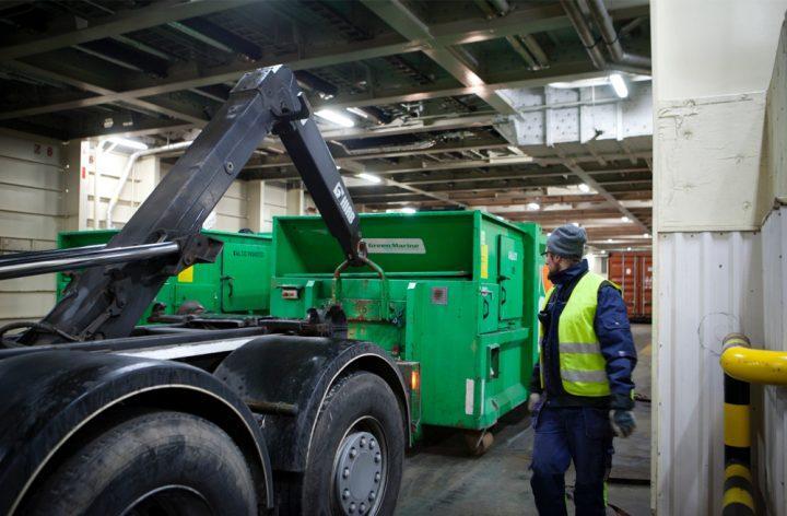 Tallink Siljan jätehuoltoa