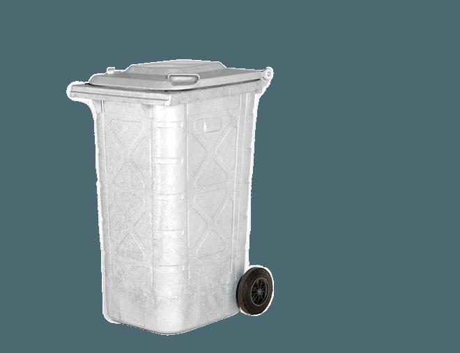 Teräsastia 240 litraa