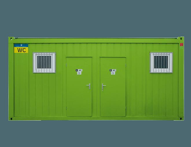 SANI-P2 WC-kontti