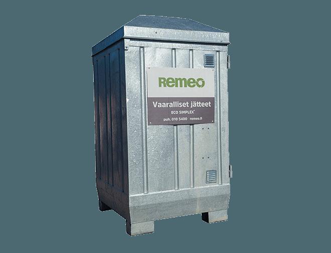 Vaarallisten jätteiden säilytysjärjestelmä