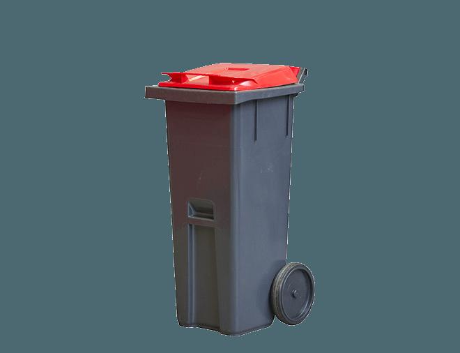Jäteastia kiinteille vaaralliselle jätteelle